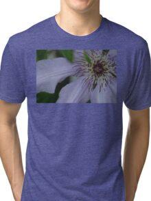 clematis close up Tri-blend T-Shirt