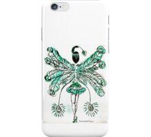 Turquoise Burlesque iPhone Case/Skin