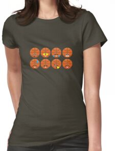 Emoji Building - Basketball Womens Fitted T-Shirt