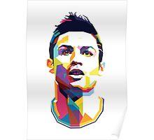 Cristiano Ronaldo – CR7 WPAP #5 Poster