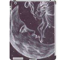 Moon fairy works some magic iPad Case/Skin