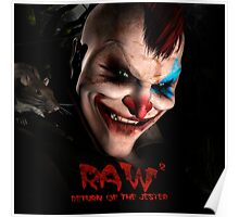 RAW - Return of the Jester Poster