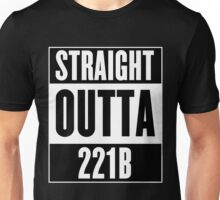 Sherlock Holmes Straight Outta 221B Unisex T-Shirt