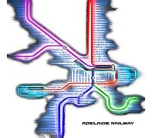 Adelaide Rail System Photographic Print