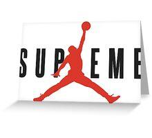 Supreme x Jordan Collab Greeting Card