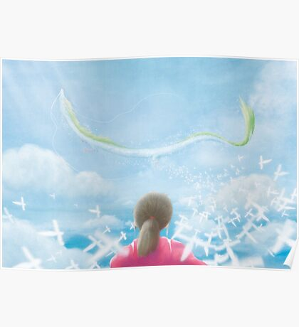 Paper Sky (Only 50!) Poster
