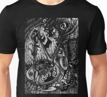 I saw fear.... Unisex T-Shirt