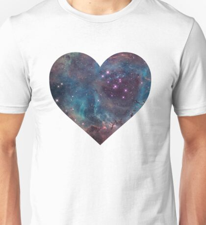 Heart-shaped Nebula Unisex T-Shirt