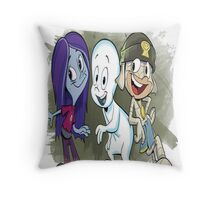 casper  group cartoon Throw Pillow