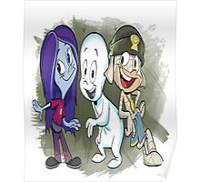casper  group cartoon Poster