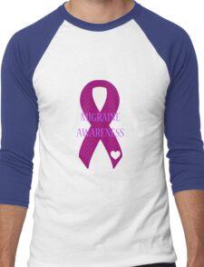 Migraine - Chevron Men's Baseball ¾ T-Shirt