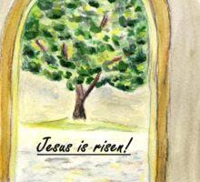 Happy Easter - Jesus is risen! Sticker