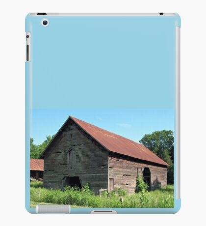 """""""A Simple and Old Timey Barn""""... prints and products iPad Case/Skin"""