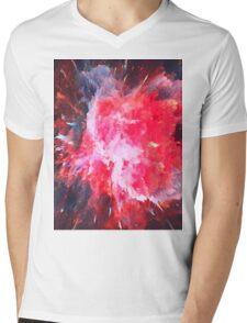 Abstract 58 Mens V-Neck T-Shirt