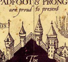 The Marauders Map Sticker