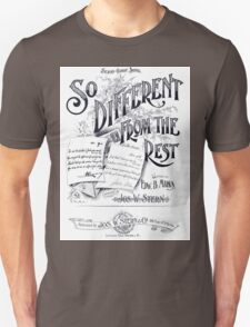 So Different From The Rest Unisex T-Shirt
