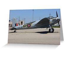 De Havilland DH.98 Mosquito  Greeting Card