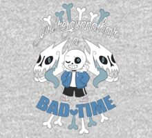 Bad Time One Piece - Short Sleeve