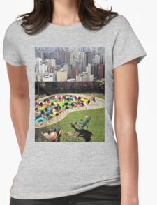 City Pool Womens Fitted T-Shirt