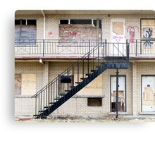 Abandoned motel 1 Metal Print