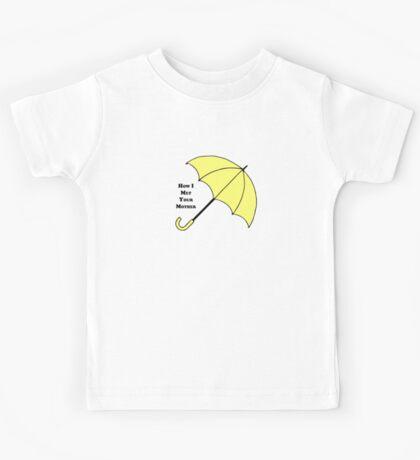 How I Met Your Mother- Yellow Umbrella Kids Tee