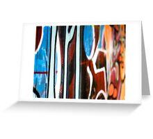 graffiti 3 Greeting Card