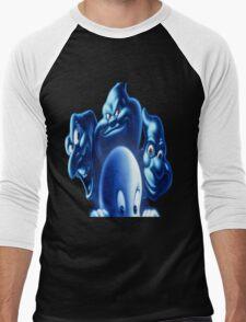 casper  group cartoon 2 Men's Baseball ¾ T-Shirt