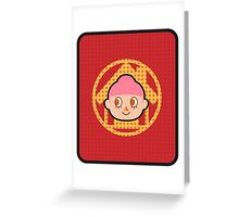 VILLAGER FEMALE HHD Greeting Card