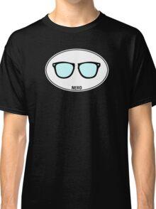 NERD - Euro Sticker Classic T-Shirt