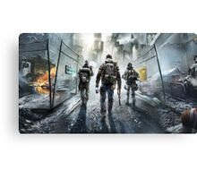 the division poster Canvas Print
