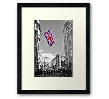Union Jack: London Framed Print
