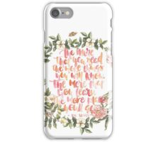 the more you read...dr seuss iPhone Case/Skin