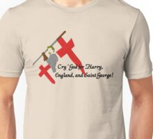 "Henry V 'Cry God!"" Unisex T-Shirt"