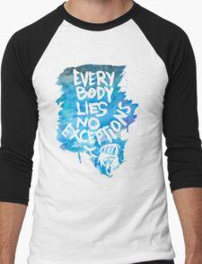 No Exceptions  Men's Baseball ¾ T-Shirt