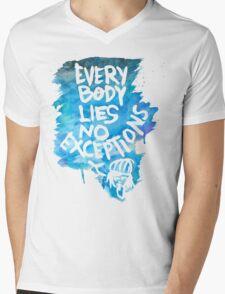 No Exceptions  Mens V-Neck T-Shirt
