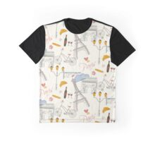 Paris symbols, postcard Graphic T-Shirt