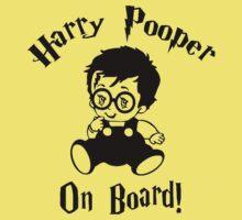 Harry Pooper On Board One Piece - Short Sleeve