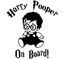Harry Pooper On Board Photographic Print