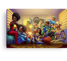 Caribbean Justice Ladies Lounge Canvas Print