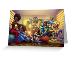 Caribbean Justice Ladies Lounge Greeting Card
