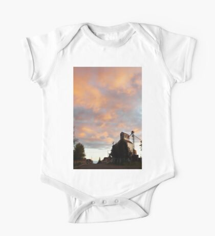 Silo At Sunset One Piece - Short Sleeve