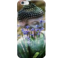 Buddha with Flower Asia Blooms iPhone Case/Skin