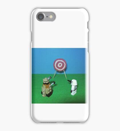 Intergalactic Shoot Off iPhone Case/Skin