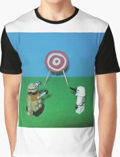 Intergalactic Shoot Off Graphic T-Shirt