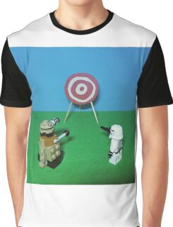 Intergalactic Shoot Off Graphic T-Shirt
