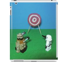 Intergalactic Shoot Off iPad Case/Skin