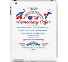 Bernies Democracy Cafe -No Kochroaches in this Kitchen! Clear Background iPad Case/Skin