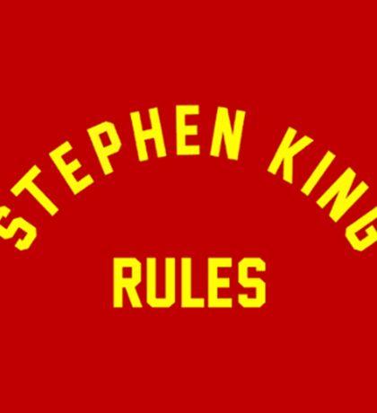 Stephen King Rules Sticker
