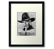 Sam Elliot  Lone Rider Framed Print