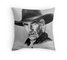 Sam Elliot  Lone Rider Throw Pillow